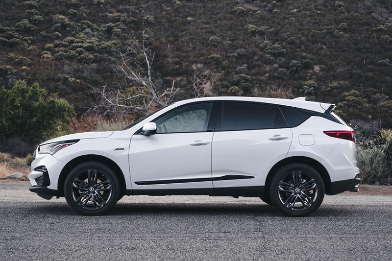 2022 Acura RDX side view